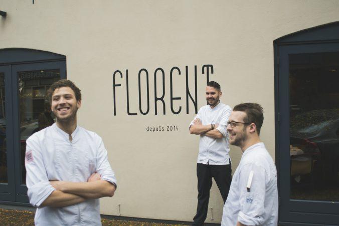 het team van Florent